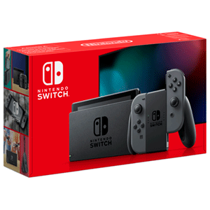 CONSOLA NINTENDO SWITCH NEGRA 2020