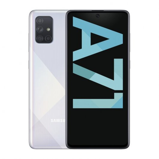 SAMSUNG GALAXY A71 6/128GB PLATA