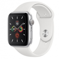 Apple Watch Series 5 GPS 40mm Aluminio Plata con Correa Deportiva Blanca | Smartwatches | Comprar productos Apple súper baratos