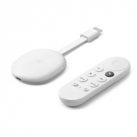 GOOGLE CHROMECAST CON GOOGLE TV BLANCO | Aparatos de video en oferta | Google Home y Chromecast