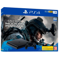 PLAYSTATION 4 1TB + CALL OF DUTY MODERN WARFARE | Consolas PS4 baratas | PS4, ofertas en consolas y juegos