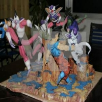 VKH – DRAGON BALL FREEZA SAGA FULL SET – DIORAMA COMPLETO | Resinas
