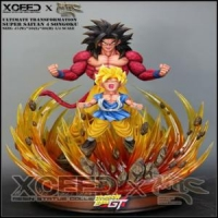 XCEED X MRC DRAGON BALL GT 1/4 ULTIMATE TRANSFORMATION SON GOKU SUPER SAIYAN 4 – 60 CM | Resinas