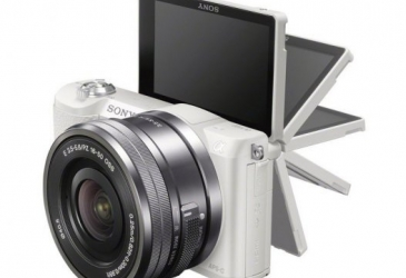 SONY ALPHA ILCE-5100 24.3MP BLANCA + E PZ 16-50MM